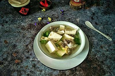 豆腐牛肉汤#节后清肠大作战#