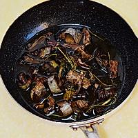 【葱烧海参】---如何熬制一碗好的葱油的做法图解5