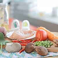 健康便当(紫薯泥、鸡胸肉蛋卷)的做法图解1