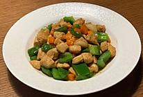 鸡胸肉炒甜椒的做法