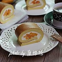 制作蛋糕卷的小窍门【芒果奶油蛋糕卷】的做法图解18