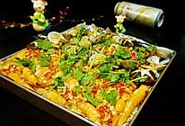 烤海鲜拼盘的做法