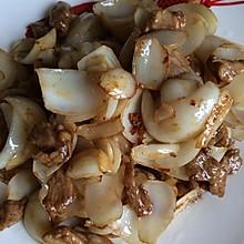 百合炒肉片