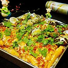 烤海鲜拼盘