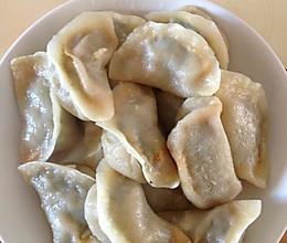 烫面荠菜蒸饺的做法
