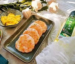 快手早餐香煎虾饼的做法