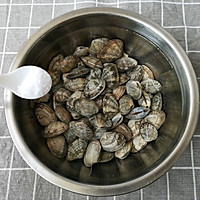 辣炒花蛤的做法图解2