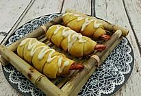 【蔓德拉的厨房】明虾凤尾包的做法