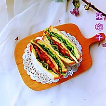 #带着零食去旅行!#鸡胸肉三明治