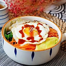 蔬菜多多调理肠胃的石锅拌饭