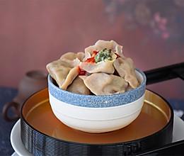 #美食视频挑战赛# 荞面荠菜馅饺子的做法
