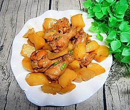 土豆烧鸡腿根的做法