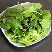 虾仁菠菜粥的做法图解4