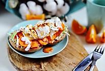 减脂贝果新吃法:中国胃的香辣红油贝果三明治#换着花样吃早餐#的做法