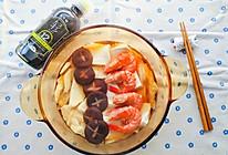 #福气年夜菜# 日式鲜虾什锦暖锅的做法