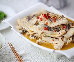 家乐金剁椒水煮鱼的做法