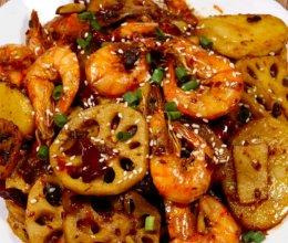 超级好吃的干锅虾,好吃的东西是要分享的的做法