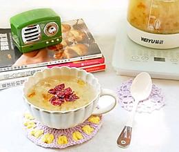 #秋天怎么吃#蔓越莓银耳桃胶皂角米羹的做法