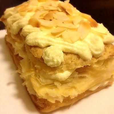 法式Chiboust Cream(卡仕达酱+淡奶油)