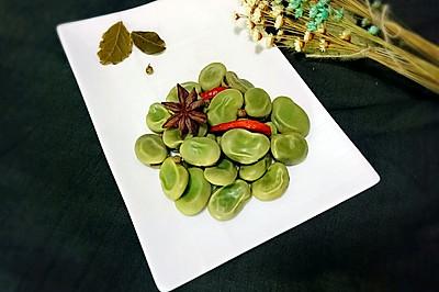 五香蚕豆+#德国MIJI爱心菜#