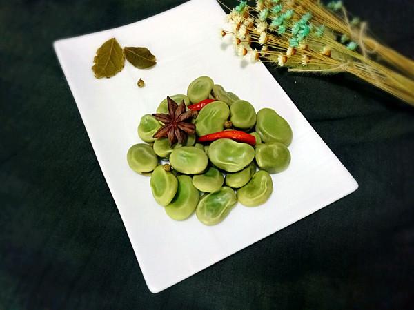 五香蚕豆+的做法