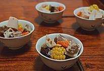 冬季滋补 莲藕玉米排骨汤 超简单的做法
