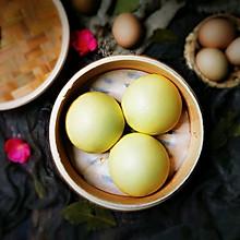 #我们约饭吧#有颜值的馒头~鸡蛋馒头
