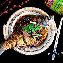 红烧鳊鱼#金龙鱼营养强化维生素A  新派菜油#