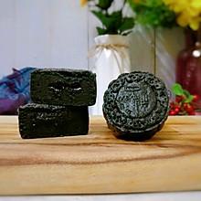黑芝麻流心月饼