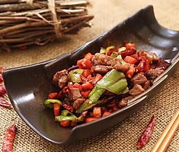 辣炒牛肉粒-迷迭香的做法