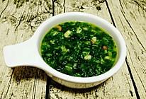 冬天来碗热热的小白菜汤的做法