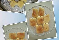 微波炉烤黄油奶香饼干的做法