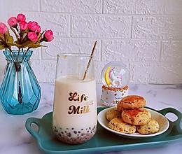 #人人能开小吃店#丝滑甜蜜红豆奶茶的做法