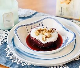 红酒雪梨#憋在家里吃什么#的做法