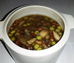 夏季去暑湿、去热痱、祛斑三豆汤的做法