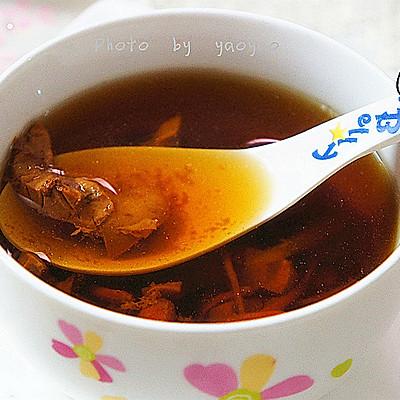 夏日滋补时令汤---枸杞虫草花猪腰汤