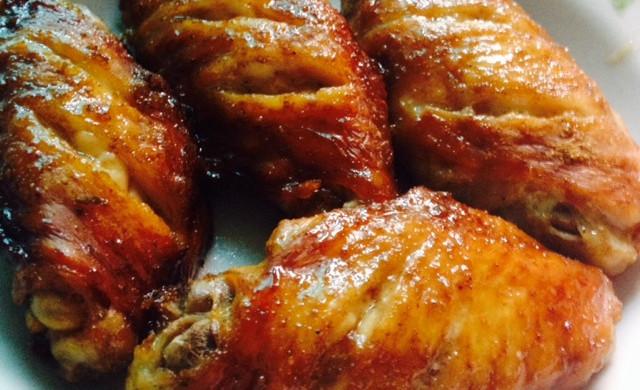 微波炉简易烤鸡翅
