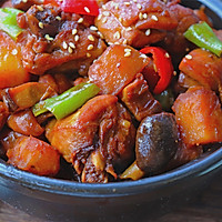 #硬核菜谱制作人#黄焖鸡米饭的做法图解14