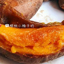 #餐桌上的春日限定#在家就可以做滋滋冒油的蜜汁烤红薯