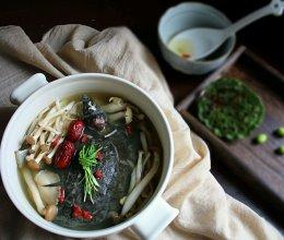 菌菇甲鱼汤的做法