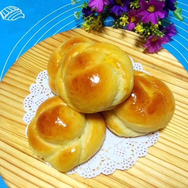 炼乳小面包的做法