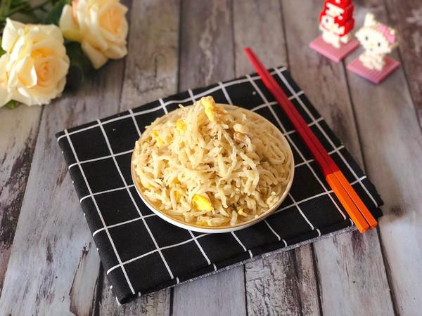 蛋炒拨烂子——土豆的华丽变身的做法