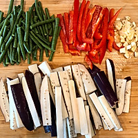 家常菜最下饭:素炒三丝的做法图解1