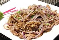 洋葱炒羊肉的做法