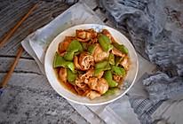 尖椒炒肥肠的做法