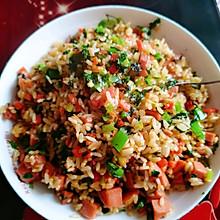 扬州炒饭。四川版