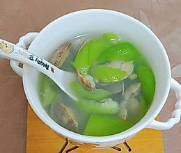丝瓜花蛤汤的做法