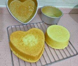 6寸8寸蛋糕的做法