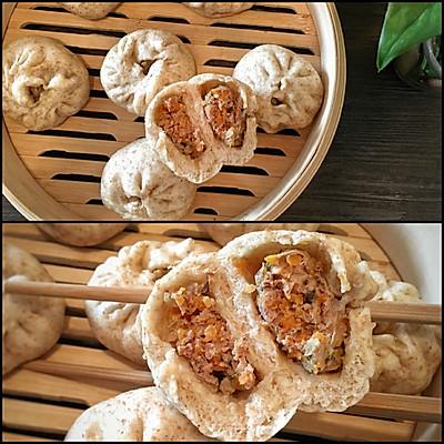 牛肉胡萝卜香菇杂粮包 详细发面步骤