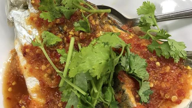 泰式蒸鱼的做法